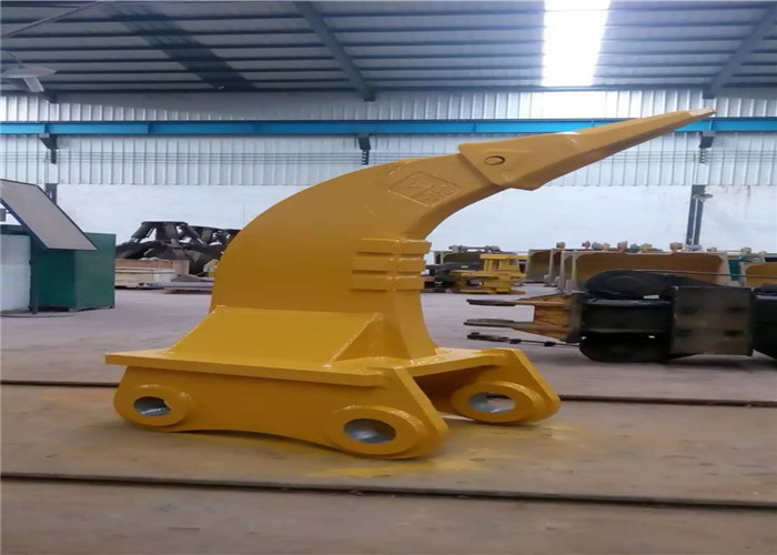 Large Single Tooth Excavator Root Ripper Attachment Strong Penetration Force