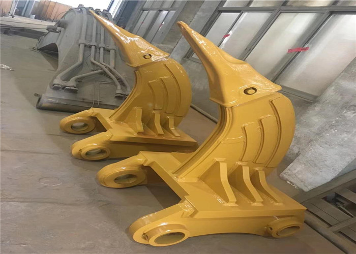 Strong Digging Excavator Root Ripper For Backhoe With High Strength Teeth